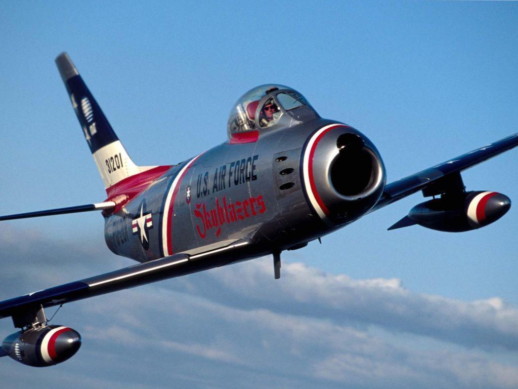 Обои sabre v, реактивный, истребитель, Canadair. Авиация foto 11